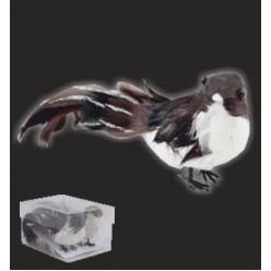 """Украшение ёлочное """"Птичка"""" с зажимом ADE5198, 2 шт/упак"""