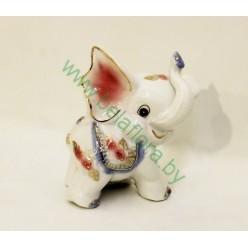 Слон керамический 10 см