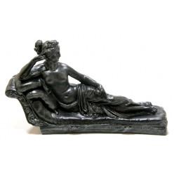 "Скульптура ""Дама на софе""  Л040"