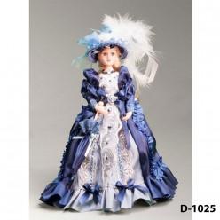Кукла декоративная фарфоровая в ассортименте, 25 см.