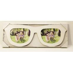 Рамка для фото Очки деревянные