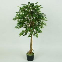 Дерево искусственное Фикус бенджамина зеленый 1,2м D075