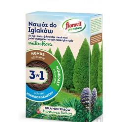 Удобрение Флоровит Про Натура  для хвойных гранулированное 1кг, коробка