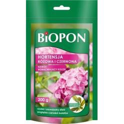 Биопон Красная и розовая гортензия  - удобрение усиливающее насыщенность цвета  200г 1561