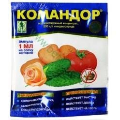Командор (амп 1мл) в пакете от колор.жука и др. 01-528