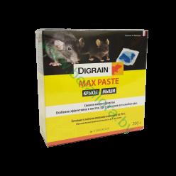 Брикеты против мышей и крыс Digrain MAX PASTE 200 гр.
