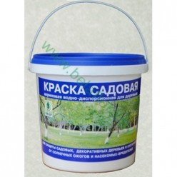 Краска акриловая садовая для деревьев, 1,5 кг