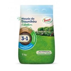 Удобрение Флоровит (Florovit) Про Натура  для газонов гранулированное 5кг, мешок