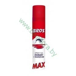 """Спрей от комаров и клещей """"Bros MAX"""", 90 мл"""