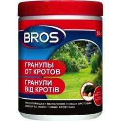 "Гранулы от кротов и грызунов ""Bros"" 50г 025 RU BY KZ 21"