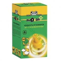 Жидкость от комаров для электрофумигатора на 30 ночей, без запаха(флакон) NADZOR