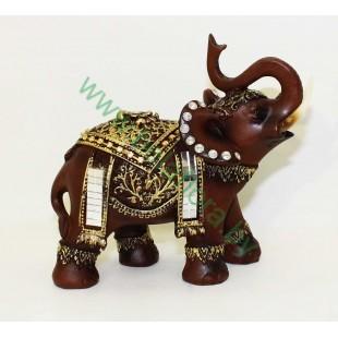 Слон керамический 14см