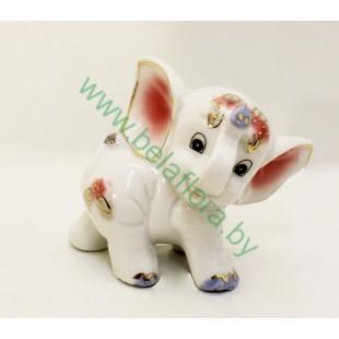 Слон керамический 7,5 см